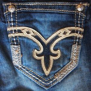 Rock Revival Boot Cut Jeans sz 28